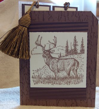 Stampin' Up! Noble Deer Example